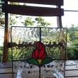 薔薇の蓋付きボックス (09/25)