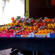 イタリア・マントヴァの青空市場