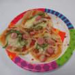 調理レクでピザ作り