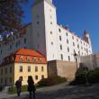 タトラ山麓とスロバキア周遊の旅<ブラチスラバ城>