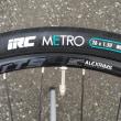 タイヤ変更、IRC METRO 26×1.5