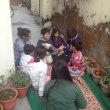 インドの子供の遊び風景