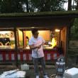 日本酒で乾杯in松尾大社