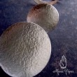 純銀の満月ピアス