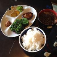 高菜のおひたし赤梅酢