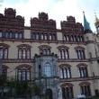 北ドイツ、シュヴェリーン城は華麗豪華な城で湖の景色も素晴らしい
