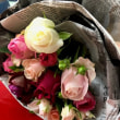 素敵な花束をいただきました(o^^o)
