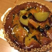 秋色のケーキ