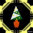 おりがみ クリスマスツリー(モミの木)6 & ボランティア