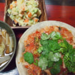 キャベツの雑穀トマトソースパスタ