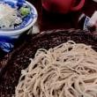 深大寺 「 湧水 」 のお蕎麦と羊羹。
