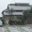北関東、3月の雪