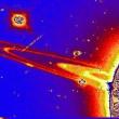 ハッブル宇宙望遠鏡の土星映像に見られる巨大宇宙船(NASAのNews Release Number: STScI-1996-18)