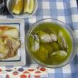 今日のホッピー  牡蠣のオイル煮