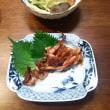 お魚の夜食:蛸、烏賊、鰯さつま揚げ