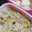 10月4日 鶏肉の ごま風味チャーハン弁当