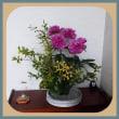 活け花と家の花