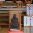 樽前神社と円空像