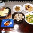 頂き物のシイタケと、我が家の春の食卓
