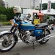 バイクでご来店!