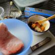 かじきまぐろの葱味噌ホイル焼き