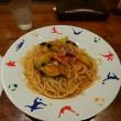 茄子とベーコンのトマトパスタCHAYA)