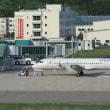 国産旅客機YS-11が飛んだ!能登空港の空を舞う