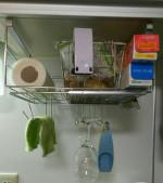 キッチン回りの収納(ラップ、ペーパー)