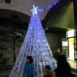 LEDの手作りツリーが綺麗☆「今里クリスマスのつどい」