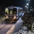 最後の雪?ニュータイヤのインプレを兼ねて三江線へ、、、