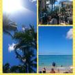 ハワイの海、空