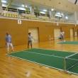 バウンドテニスの練習