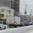 札幌市内の雪景色