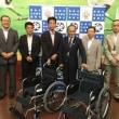 ネッツトヨタ道東㈱社会貢献委員会様より車椅子をいただきました
