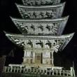 羽黒山五重塔夜間参拝