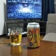 相撲見ながらのビール 旨い❗️