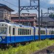 四日市あすなろう鉄道 260形リニューアル なろうブルー 内部線(日永-赤堀)