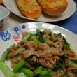 豚肉と小松菜のサッと炒め