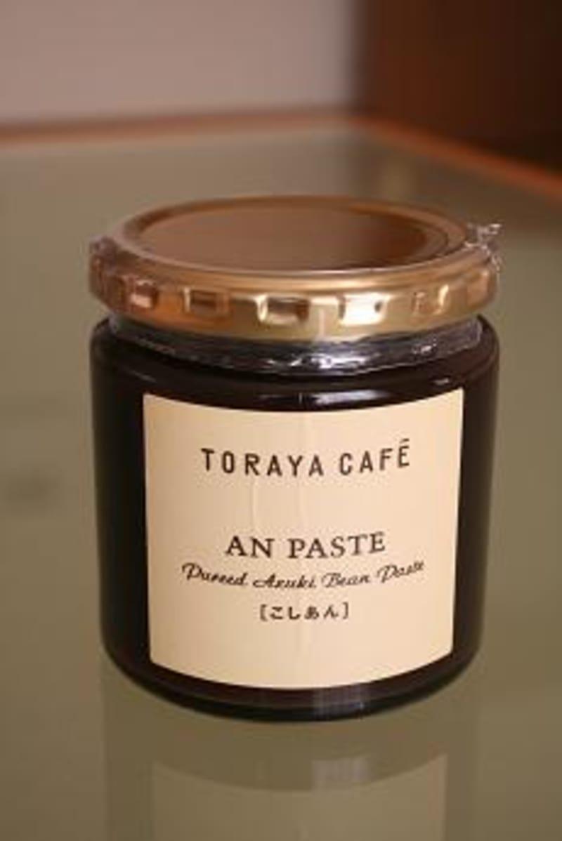 TORAYA CAFEの あんペースト