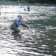 9/24 「秋のマス釣り大会」のようす