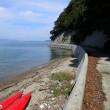 瀬戸内シーカヤック日記: とびしま海道・岡村島でシーカヤックキャンプ&夏の終わりの島渡りツーリング