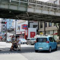 2014年夏・JR寺田町駅前