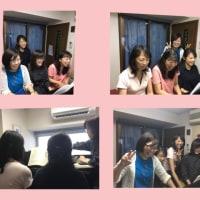 ピアノの先生仲間とピアノとおしゃべりを楽しむ会♪