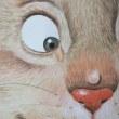 第5回 壁画技術講座 「イラスト模写」(猫の毛並みのタッチ)