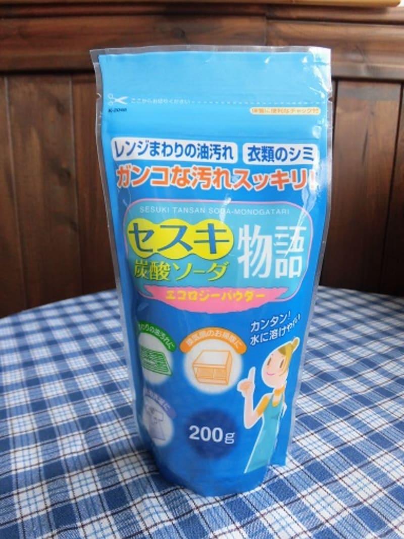 セスキ炭酸ソーダを使ってみました