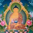 薬師如来 (やくしにょらい、梵: Bhaiṣajya-guru, バイシャジヤ・グル)