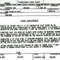 ニュース 社会 <米海軍>原爆投下前に電文「長崎、小倉、広島入らぬよう」
