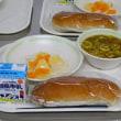 初めての中学校給食
