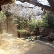 原三渓の水琴亭での昼食