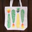 my bag パイナップル<緑×黄>